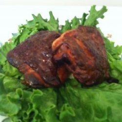 Spicy Smoked Chicken Thighs recipe