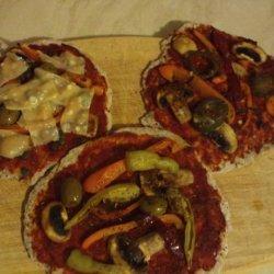 Fast and Easy Wholegrain Pizza - Vegetarian, Vegan recipe