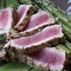 Limoncello Tuna and Asparagus recipe