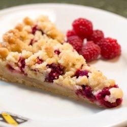 Raspberry Crumble Tart recipe
