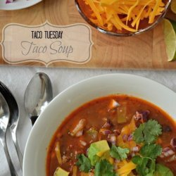 Beef Taco Soup recipe