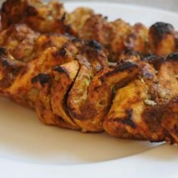 Grilled Curry Chicken on a Stick (Cambodia) recipe