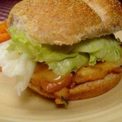 Ham and Cheese Chicken Sandwich recipe