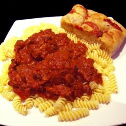Mama Lama's Tomato Sauce and Meatballs recipe