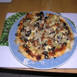 Ange's Vegetarian Pizza recipe