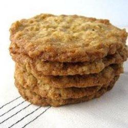 Crisp Oatmeal Cookies recipe