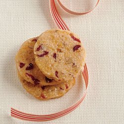 Cranberry-Pecan Cheese Wafers recipe