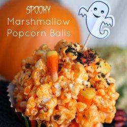 Marshmallow Popcorn Balls recipe