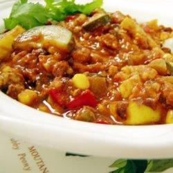 Rainbow Veggie Chili recipe