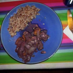 Pork With Apricots recipe