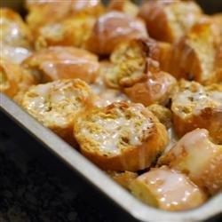 Doughnut Bread Pudding recipe