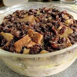 Microwave Raisin Bread Pudding recipe