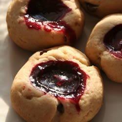 Sugared Black Raspberry Tea Cookies recipe
