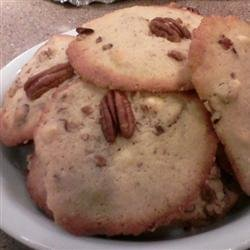 White Chocolate Chunk Pecan Cookies recipe