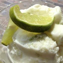 Coconut Lime Ice Cream - Automatic Ice Cream Maker Recipe recipe