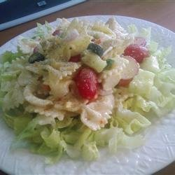 Summertime Chicken and Pasta Salad recipe