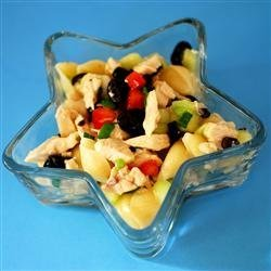 Chicken and Vegetable Pasta Salad recipe