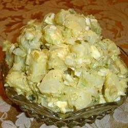 Healthier Old Fashioned Potato Salad recipe