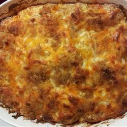 Yummy Tater Tot Casserole recipe