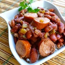 Creole Red Beans and Rice recipe