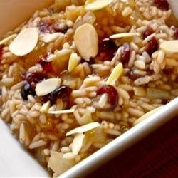 Cranberry and Almond Rice Pilaf recipe