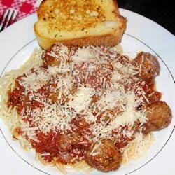 Spaghetti Sauce II recipe