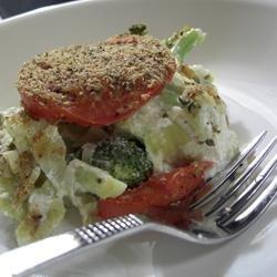 Broccoli and Artichoke Bake recipe