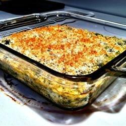 Creamy Broccoli and Cheese Casserole recipe