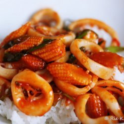 Korean Calamari - Nigella Lawson recipe