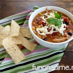 Creamy Chicken Tortilla Soup recipe