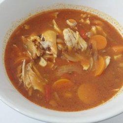 Puerto Rican Chicken Soup recipe