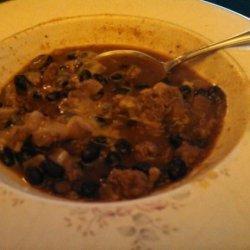 Black Bean Chili Soup recipe