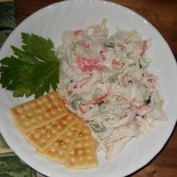Crab Meat & Shrimp Salad recipe