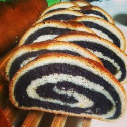 Ukrainian Christmas Poppy Seed Roll Makovyi Knysh recipe