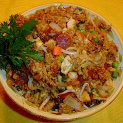 Chinese House Special Fried Rice recipe