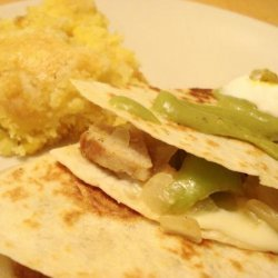 Leftovers Quesadillas recipe