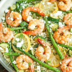 Shrimp and Orzo Salad recipe