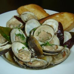 Steamed Clams With Thai Basil and Chiles recipe