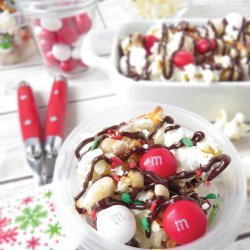 Santa Snack Mix recipe