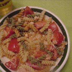 Biff's Sweet Sour Shrimp and Pasta recipe