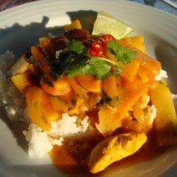 American Kitchen Classic Basic Thai Curry recipe