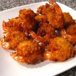Coconut Shrimp With Spicy Tartar Sauce Dip recipe