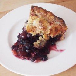 Cherry Blueberry Pie recipe