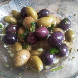 Emeril Lagasse's Creole Olive Salad recipe