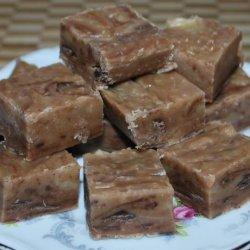 Simple Peanut Butter Chocolate Fudge recipe