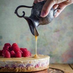 Cheesecake With Raspberry Sauce recipe