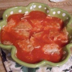Poor Man's Tomato Soup recipe