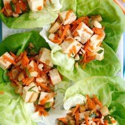 Vegetarian Lettuce Wraps recipe