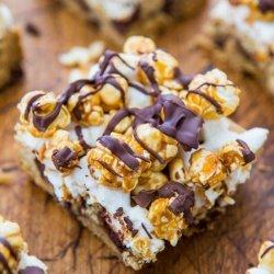 Caramel Corn Chocolate Bars recipe
