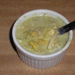 Chicken Corn Chowder With Poblanos recipe